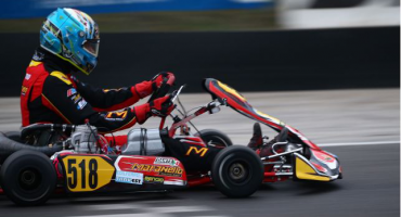 MARANELLO KART ON THE PODIUM OF THE SPRING TROPHY IN LONATO WITH DANTE AND VANNINI